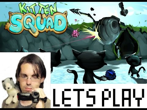 Kitten Squad LIVE w/Robby - PETA Made Game About Cats Shooting Robots to Save Whales and Stuff