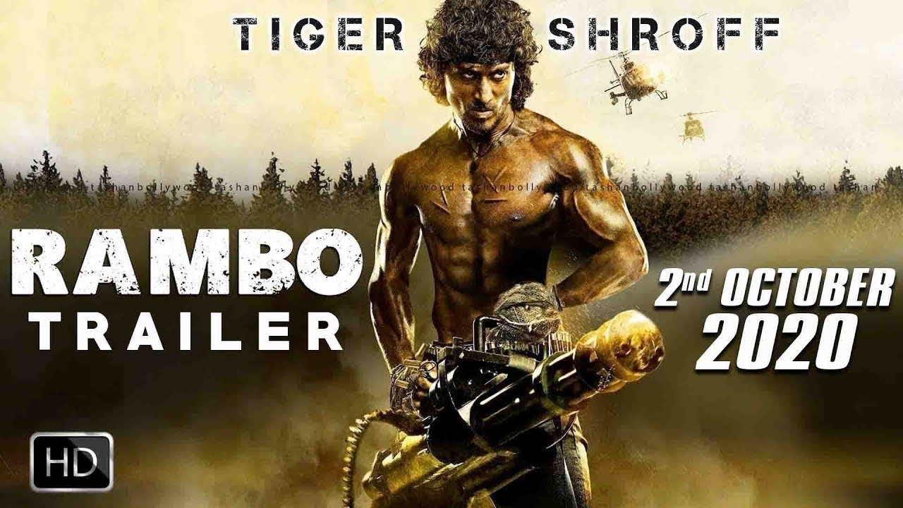 RAMBO Movie Trailer Out Soon | Tiger Shroff | Sylvester ...