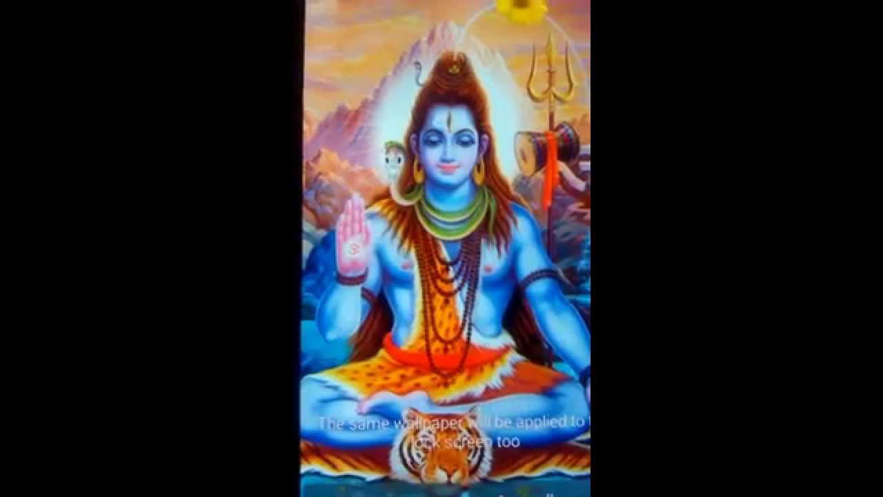 Lord Shiva Live Wallpapers Youtube