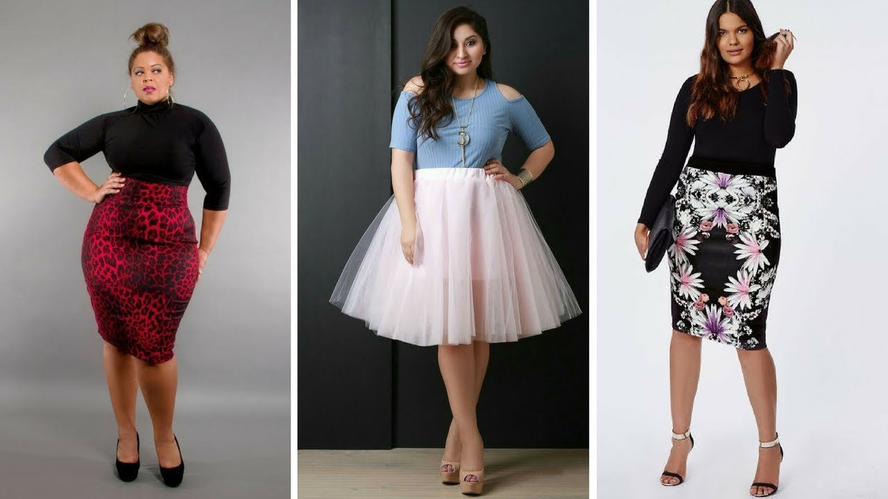 b860df10c FALDAS PARA GORDITAS ♥ #Moda #Fashion #Gorditas #Faldas