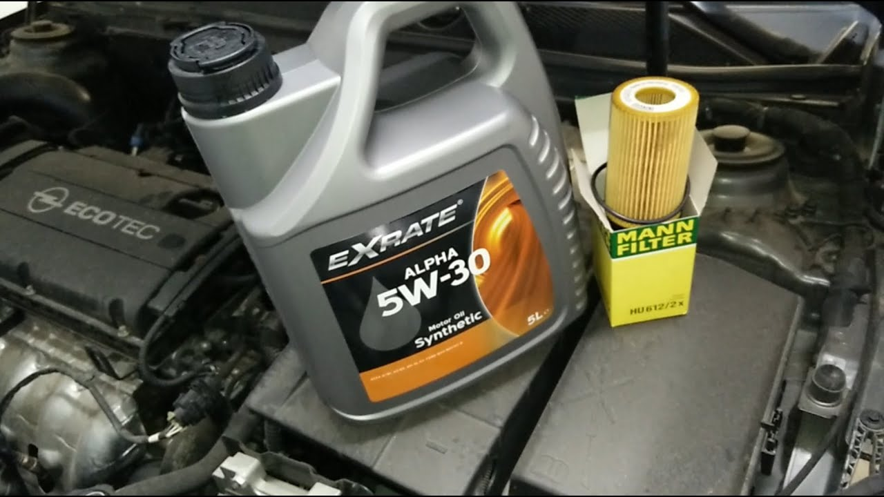 How to change oil and filter - Opel Insignia
