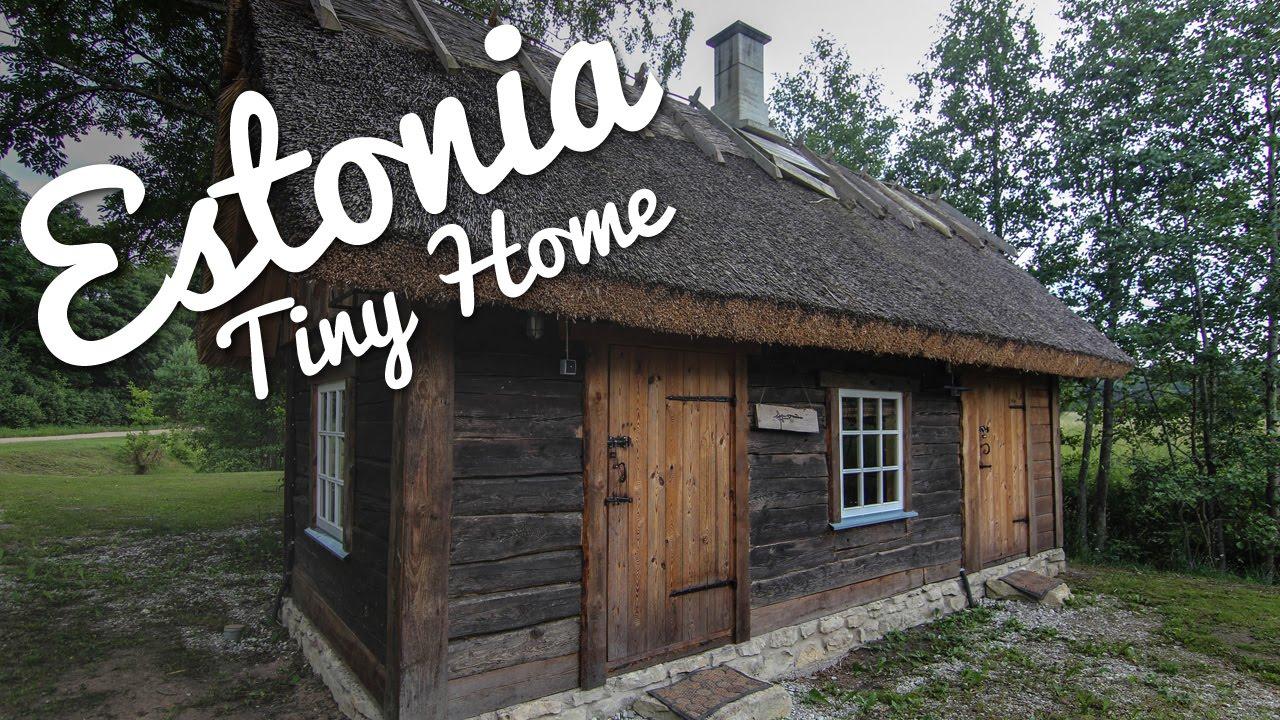 Estonia tiny home tour youtube for Home video tours