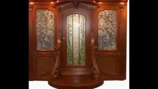 Деревянные двери своими руками для дачи - необычной формы и дизайна.(Деревянные двери своими руками для дачи особенно входные деревянные двери должны быть лицом хозяина. Как..., 2015-05-20T07:45:52.000Z)