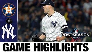 Aaron Hicks' HR, James Paxton's gem keep Yankees alive (ALCS Game 5) | Astros-Yankees MLB Highlights