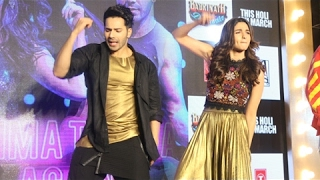 Tamma Tamma Again Song Launch Full Video | Varun Dhawan, Alia Bhatt | Badrinath Ki Dulhania