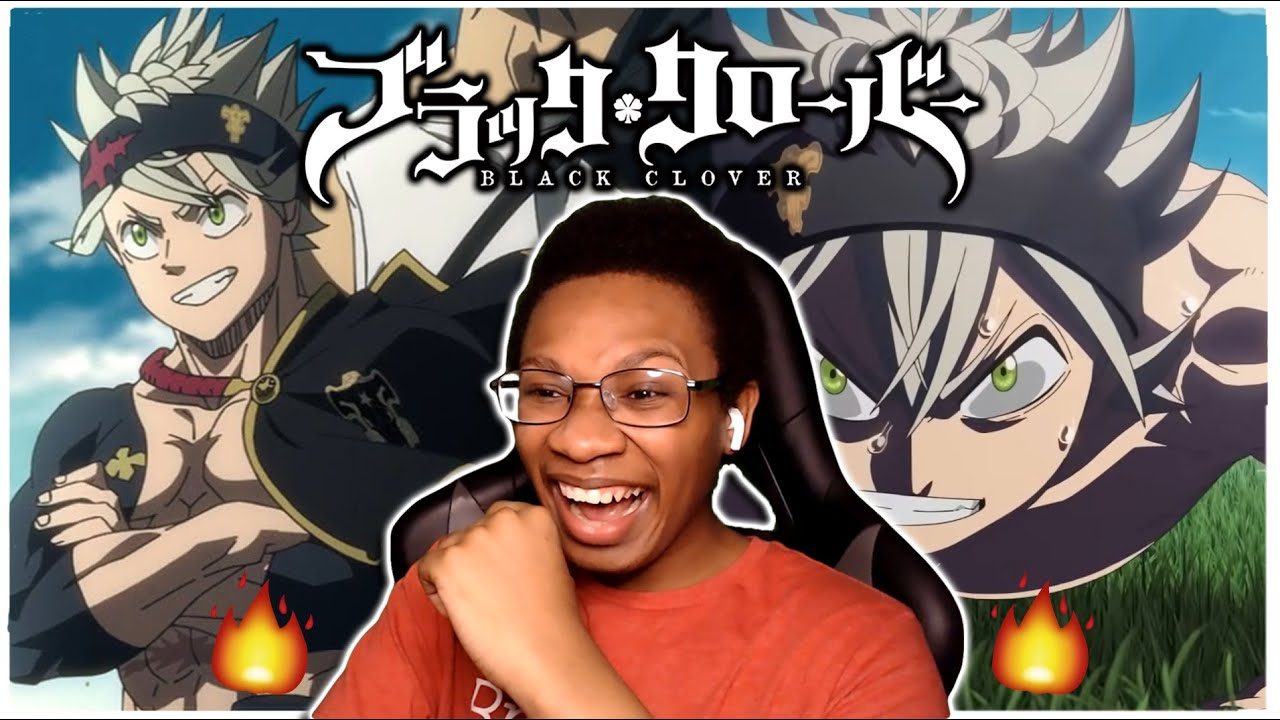 New Black Clover Fan Reacts - To All Black Clover Openings 1-13 - Anime Op REACTION!