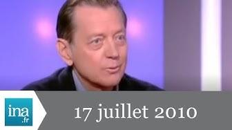20h France 2 du 17 juillet 2010 - Bernard Giraudeau est mort - Archive INA