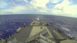 USS Paul Hamilton DDG-60 Missile and Torpedo Exercise