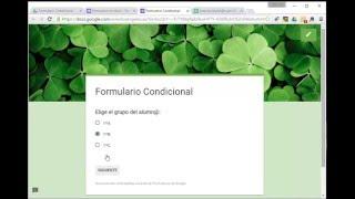 Video 01B. Crear un Formulario Condicional de Google Drive download MP3, 3GP, MP4, WEBM, AVI, FLV Agustus 2018