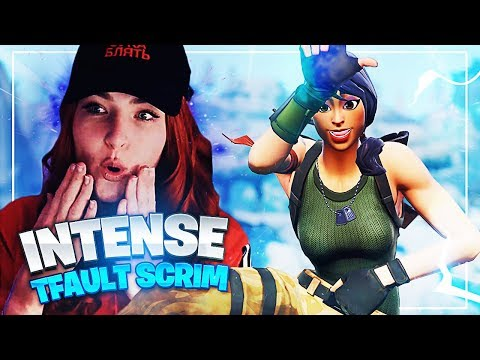CRAZY TFAULT SCRIM WIN! ft Diggy, Heart & Reverse2k (Fortnite: Battle Royale)
