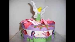Tinkerbell Birthday Cake