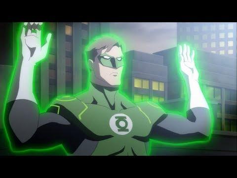 Green Lantern enters Gotham   Justice League War