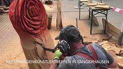 11. KETTENSÄGENKÜNSTLERTREFFEN in Sangerhausen