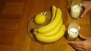 Десерт Мороженое из бананов
