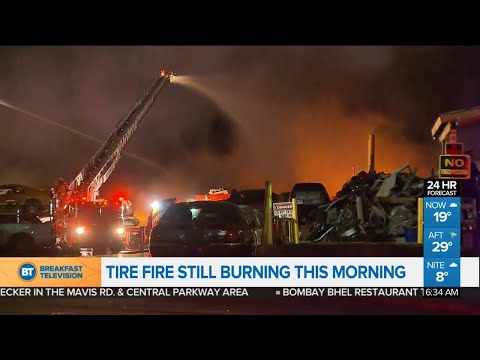 Top stories: Mississauga scrapyard fire,  nominations close Friday in Toronto election