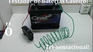 Testador Baterias Digital x Testador  Caseiro  Tri-Sensacional