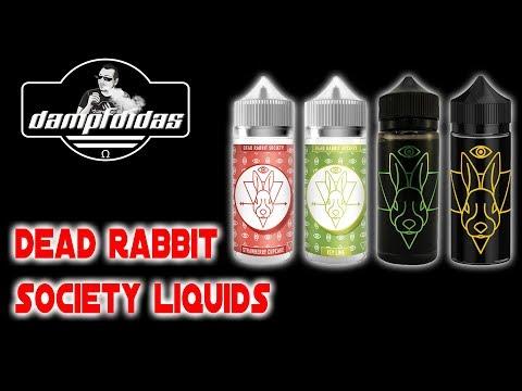 Dead Rabbit Society Liquids MEGA! Review