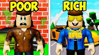 Poor To Rich: The Officer Roofus Story! A Roblox Movie (Brookhaven RP)