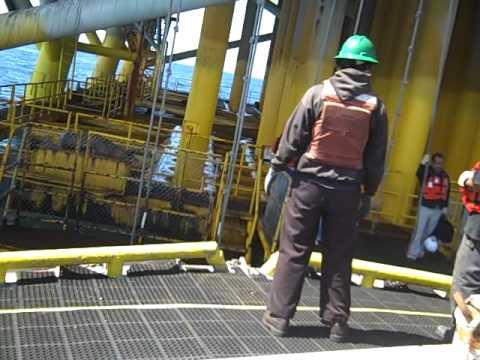 Swing Rope - Platform to Crewboat