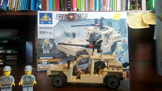 Review Kazi Hummer Recon With 3 Minifigures