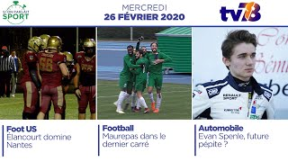 Si On Parlait Sport. Emission du 26 février 2020