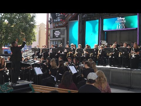 Temecula Middle School Symphonic Band 6-1-2018 at California Adventure