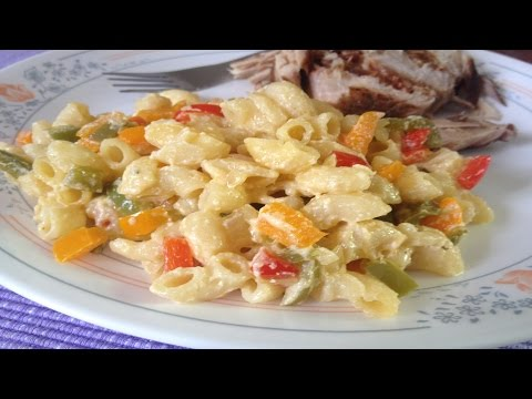 How To Cook: Bell Pepper Pasta