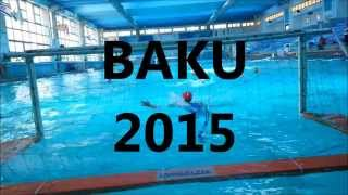 BAKU 2015-WATER POLO- ISRAEL TEAM