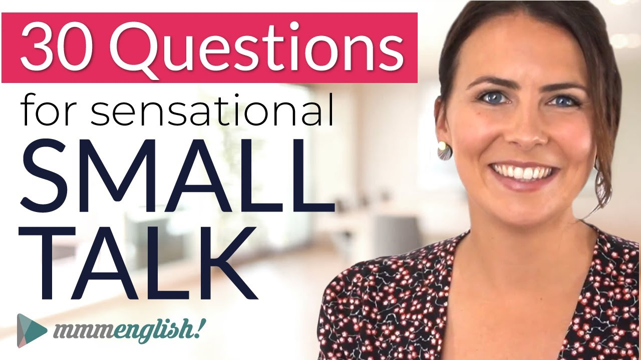 Download How to make GREAT Small Talk   English Conversation Practice