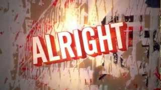 Matt and Kim - ''It's Alright'' (Official Lyric Video)