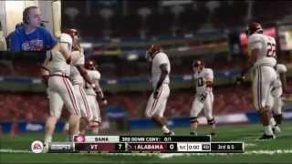 NCAA Football 14 Demo - Xbox 360 Gameplay (3 FULL Games!)
