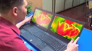 Bóc hộp Dell Precision M4800 REFURBISHED bảo hành hãng 2020 Dell Việt Nam Laptop Lê Sơn