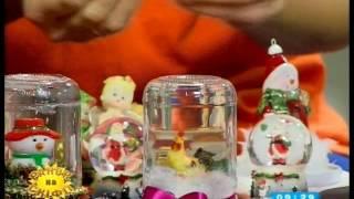як зробити сніжна куля в домашніх умовах