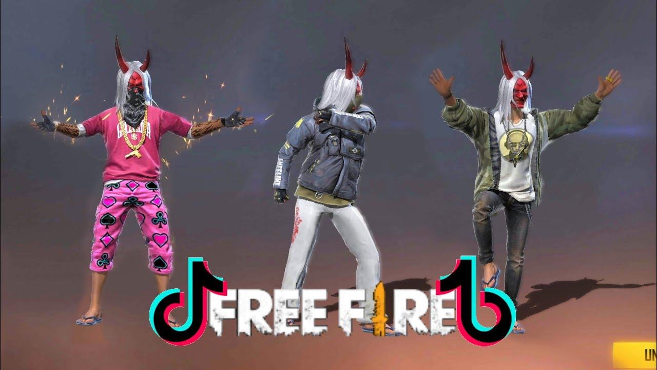 Tik Tok Free Fire Zombie Samurai,AK Legendary,Emote Keren,Dan Kreatif