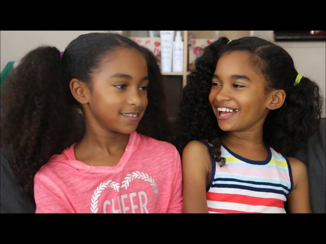 Jada and Maya (A Twin with a Rare Genetic Condition-Nonverbal)