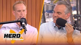 Joe Buck talks calling a Super Bowl, working with Troy Aikman and more   THE HERD   LIVE FROM MIAMI