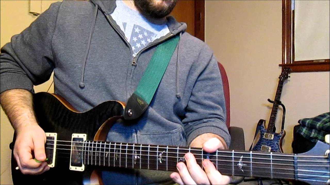 Angels And Airwaves Voyager Guitar Cover Youtube