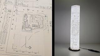 건축 도면으로 DIY LED 조명 만들기