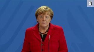 Nach US-Wahl: Merkel erinnert Trump an demokratische Werte