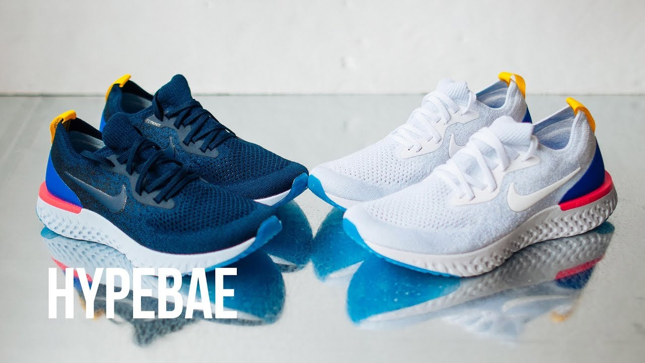 87c1e9177305 Nike Epic React Flyknit Sneaker Unboxing - YouTube