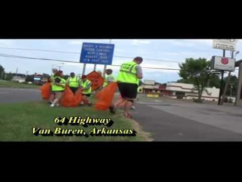 """VFW Post 1322 """"Adopt a Highway"""" Van Buren, Arkansas"""