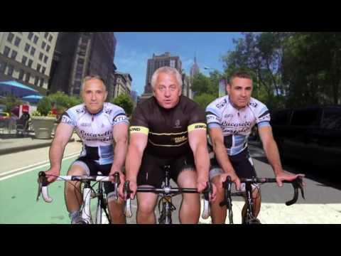 Greg LeMond rides through NYC | Lucarelli & Castaldi, LLP.