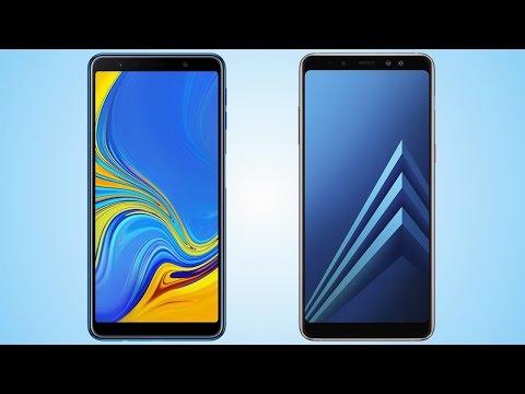 Samsung Galaxy A7 2018 vs Galaxy A8 Plus Comparison