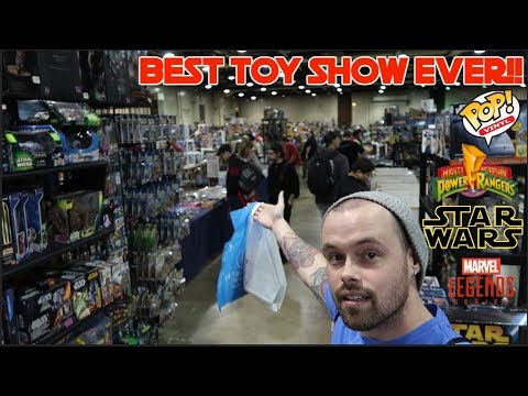 Episode 29 toy hunting at the biggest toy show in ohio for Ohio fishing expo