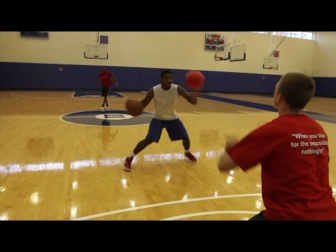 WANNA HAVE HANDLES LIKE KYRIE IRVING? WATCH HIS HANDLES WORKOUT