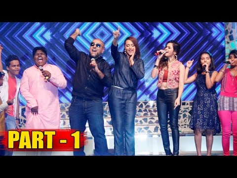 Sonakshi Sinha, Vishal Dadlani & Shalmali Kholgade Launches Indian Idol Junior PART - 1
