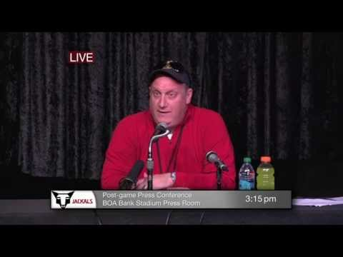 Post-Game Press Conference with Coach Cliche