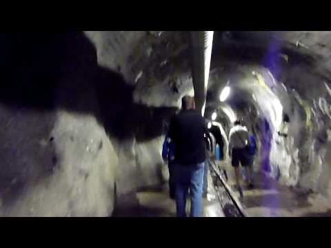Lesotho - Riders For Health tour - Nov09 - Inside the Katse Dam. Lesotho Nov09