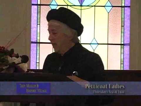 Tea Lecture_Petticoat Ladies