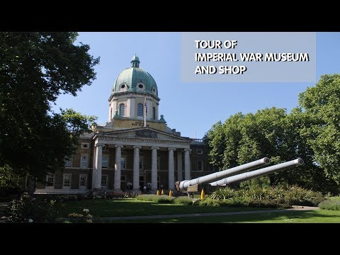 Tour of Imperial War Museum & Gift Shop